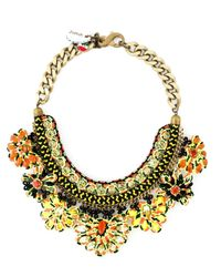 Sveva Collection | Multicolor Cord Beaded Handmade Necklace | Lyst
