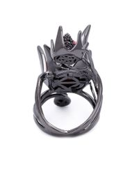 Eddie Borgo | Black 'climbing Rose' Ring | Lyst