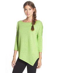 Betsey Johnson | Green Asymmetrical Pullover | Lyst