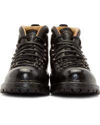 Officine Creative | Black Grained Kontra Boots for Men | Lyst