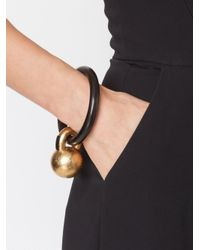 Monies | Black Kettle Ball Bracelet | Lyst