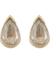 Anaconda | Metallic Women's Gwyneth Studs | Lyst