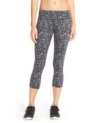 Nike | Black Lotus Epic Run Cropped Leggings | Lyst
