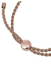 Monica Vinader | Pink Bali Friendship Bracelet | Lyst