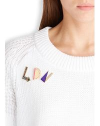 MFP MariaFrancescaPepe | Metallic Ldn 23Kt Gold Plated Brooches | Lyst