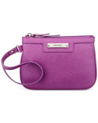 Nine West | Purple Glitter Mob Wristlet | Lyst