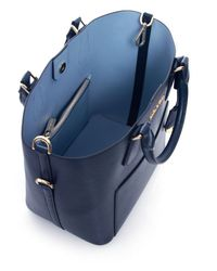 MICHAEL Michael Kors | Blue Large Greenwich Tote Bag | Lyst