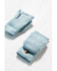 Urban Outfitters - Blue Diamond Convertible Plush Glove - Lyst