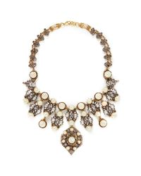 Erickson Beamon | White 'stratosphere' Pearl Crystal Necklace | Lyst
