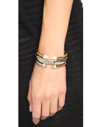 Vita Fede - Metallic Mini Titan Split Two Tone Bracelet - Lyst