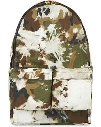 Off-White c/o Virgil Abloh - Multicolor Camo Backpack - Lyst