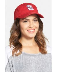 American Needle | Red 'st. Louis Cardinals' Baseball Cap | Lyst