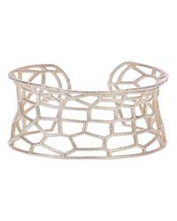 Lotocoho | Metallic Geometric Cuff | Lyst