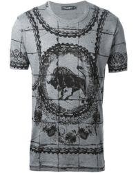 Dolce & Gabbana | White Short Sleeve T-Shirt for Men | Lyst