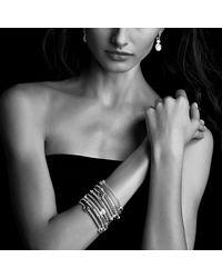 David Yurman | Metallic Renaissance Drop Earrings With Diamonds | Lyst