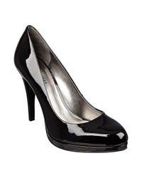 Nine West | Black Regola Platform Heels | Lyst