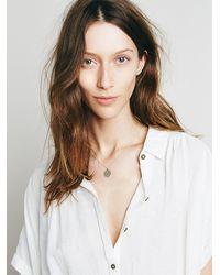 Free People - Metallic Laurel Denise Womens Aum Pendant - Lyst