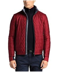 BOSS Green Red Jacket 'jorres' In Quilted Look for men