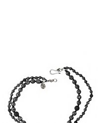Chan Luu | Black Sterling Silver And Hematite Double Necklace | Lyst