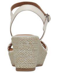 Lucky Brand | Metallic Lyall Platform Wedge Sandals | Lyst