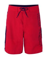 Helly Hansen | Red Hh Logo Swim Shorts for Men | Lyst