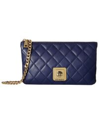 Love Moschino - Blue I Love Superquilted Evening Crossbody Bag - Lyst