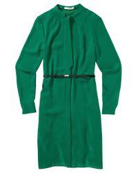 BOSS Green 'dylana' | Belted Neck-tie Shirt Dress