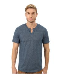 Alternative Apparel | Blue Eco Mock Twist Jersey Pathway T-shirt for Men | Lyst