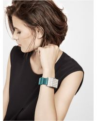 BaubleBar - Metallic Disco Bracelet & Up Move By Jawbone Duo - Teal - Lyst