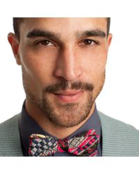 Mr Turk - Multicolor Nomads Baja Jacquard Bow-tie for Men - Lyst