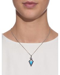 Stephen Webster - Black Diamond, Sapphire & Gold Lady Stardust Necklace - Lyst