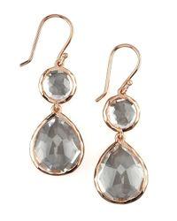 Ippolita | Metallic Rose Snowman Earrings | Lyst