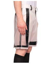 KTZ - Black Silicone Bermuda Shorts for Men - Lyst