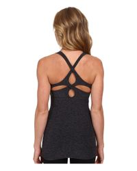 Beyond Yoga | Black Cutout Cami | Lyst