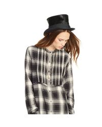 Denim & Supply Ralph Lauren | Gray Plaid Tuxedo Shirt | Lyst