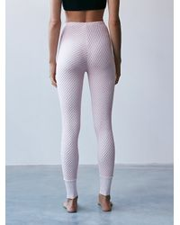 Free People - Pink Fp Movement Womens Wind Down Knit Pants - Lyst