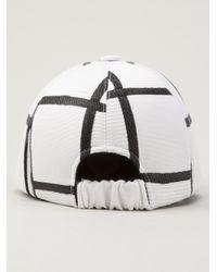 Piece D Anarchive - Black Woven Cap - Lyst