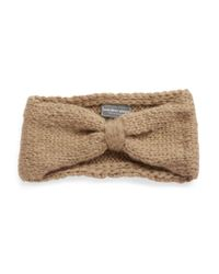 Wooden Ships | Brown Knotted Knit Headband | Lyst