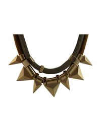 Ziba - Black Erna Necklace - Lyst