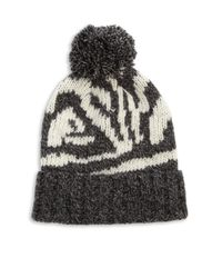 Genie by Eugenia Kim - Gray Logan Abstract-patterned Beanie - Lyst