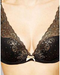 Gossard | Black Opulence Thong | Lyst