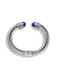 David Yurman | Metallic Cable Classics Bracelet, 10mm | Lyst