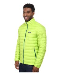 Patagonia | Green Down Sweater Jacket for Men | Lyst
