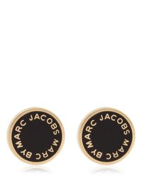 Marc By Marc Jacobs - Metallic Disc-O New Classic Enameled Earrings - Lyst