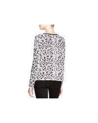 Generation Love - Black Leopard Print Sweater - 100% Bloomingdale's Exclusive - Lyst