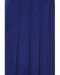 Missoni - Blue Pleated Skirt - Lyst