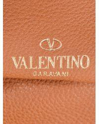 Valentino - Purple Rockstud Reversible Leather Tote Bag - Lyst
