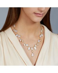 Pippa Small - Metallic Princess Moonstone Necklace - Lyst