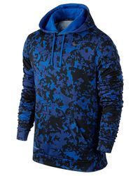 Nike | Blue Ko Splinter Pullover Training Hoodie for Men | Lyst