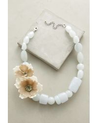 Anthropologie | Blue Bloomtide Necklace | Lyst